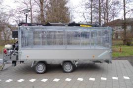 HWR-Forstanhänger Hochlader Gitter bis 3.500 kg