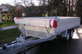 PKW-Anhänger Hochlader PHT bis 3.500 kg mit Flachplane