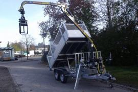 HWR-Forstanhänger Rückwärtskipper bis 3.500 kg
