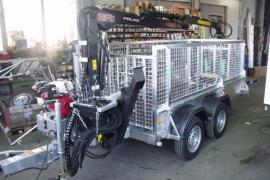 HWR-Forstanhänger Tieflader Gitter bis 3.500 kg
