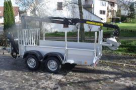 HWR-Forstanhänger Tieflader Standard