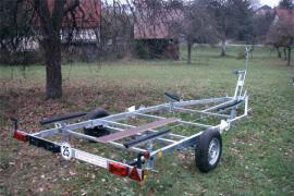 Bootsanhänger BLE 25 km/h bis 2.000 kg