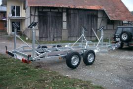 Bootsanhänger BLT 25 km/h bis 3.500 kg