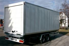 LKW- Anhänger, Koffer, Serie LHT 4.500 - 13.500 kg